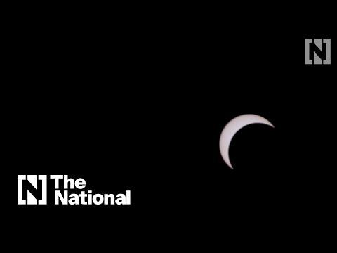 Watch the UAE's stunning solar eclipse