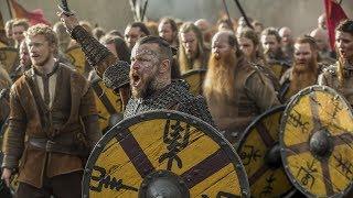 Викинги 5x15 - Битва войск конунга Харальда против короля Альфреда