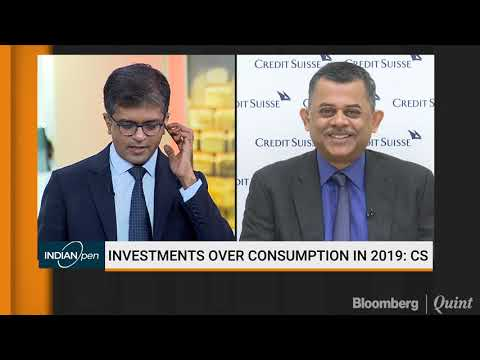 Credit Suisse: Investments Over Consumption In 2019