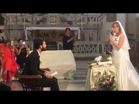 Hallelujah sposa canta per lo sposo