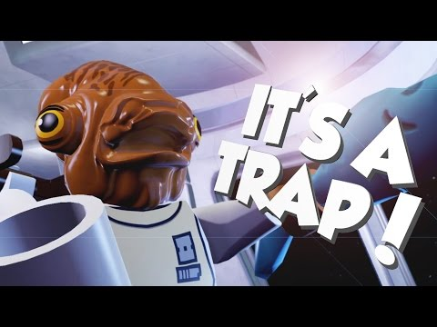 LEGO Star Wars: The Force Awakens Gameplay - It's a Trap!!! - Let's Play