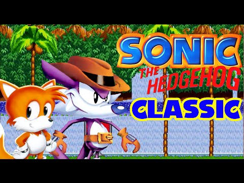 Sonic Classic (with Nack The Weasel And Tails)