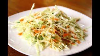 764. Простой салат из капусты с морковью. Быстро и вкусно.