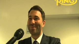 Eddie Hearn talks DeGale title win, Froch-Golovkin