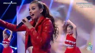 Menuda Noche   Melody canta con 'mini' Melody 'Los Gorilas'