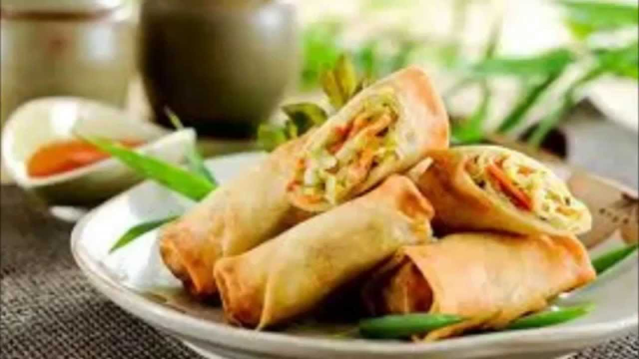 Vegetable Spring Rolls Chinese Spring Roll Veg Spring Roll Recipe ...