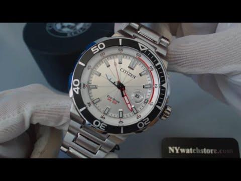 Men's Citizen Eco Drive Endeavor Sport Diver's Watch AW1420-55A