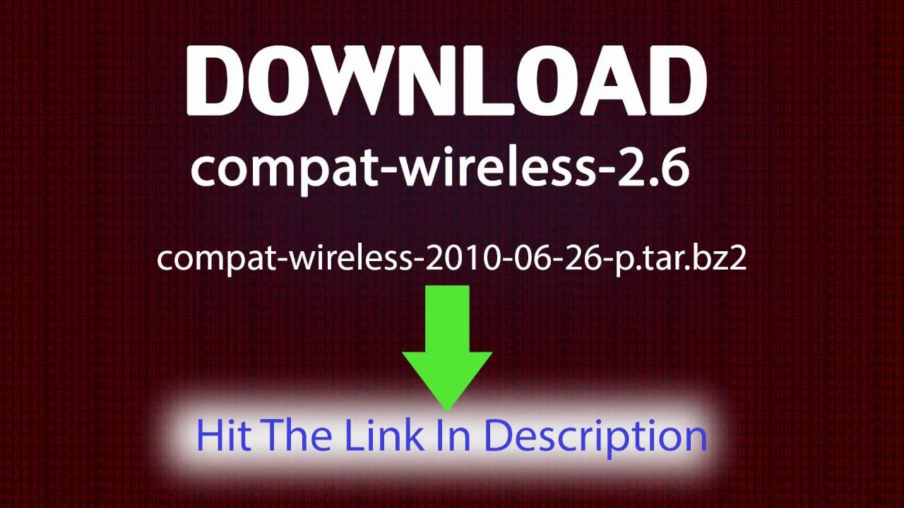 download compat wireless 26 26 june 2010