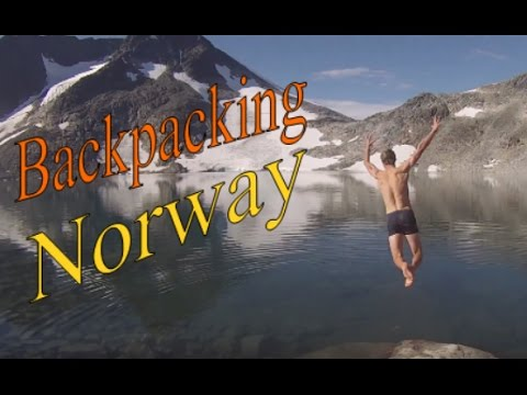 +++ Backpacking Norway +++  A Hitchhiking Trip to Jotunheimen and Hardangervidda +++