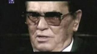 Josip Broz Tito , interview 1978. english subtitle Pitanje: