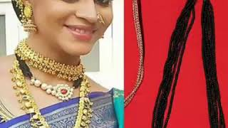 Treditional Maharashtrian Nath Mangalsutra Collection||New And Fancy Mangalsutra Style||