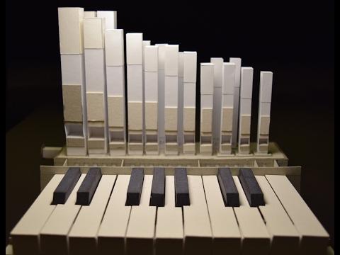Working paper organ / Действующий оргАн из бумаги