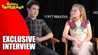 'Don't Breathe' Stars Hate The Basement - Exclusive Interview (2016)