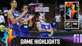 senegal v philippines game highlights group b 2014 fiba basketball world cup