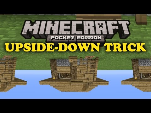 how to make a animal go upside down in minecraft