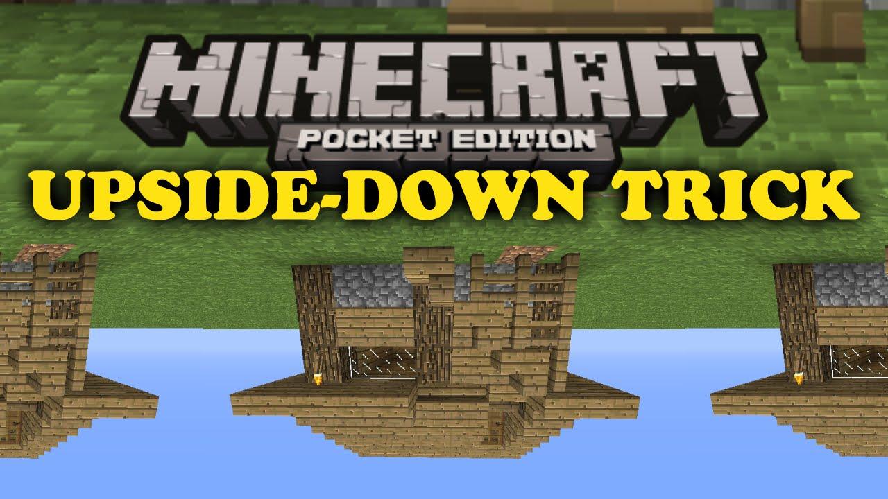 ✓ Upside-Down House - Minecraft PE - YouTube