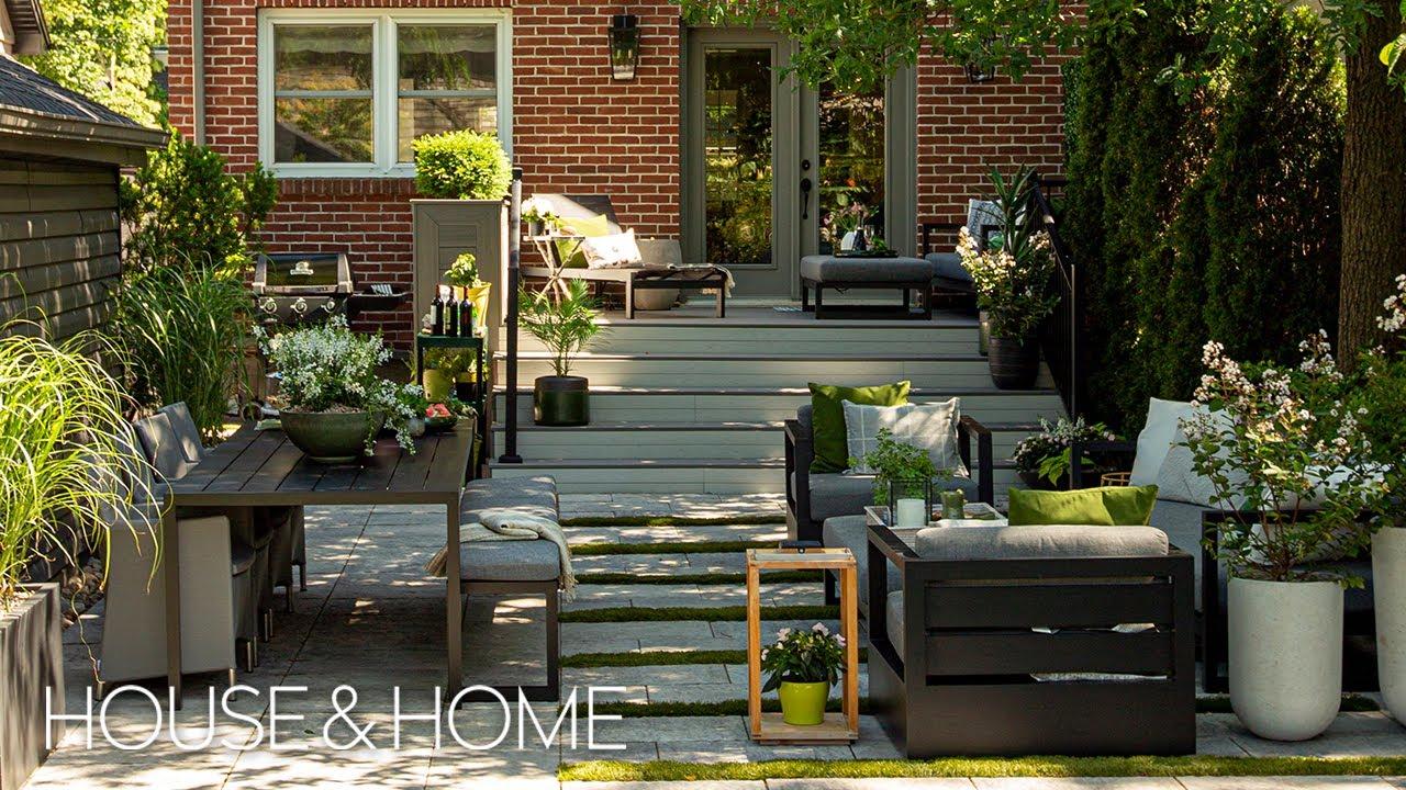 A Designer's Lovely City Backyard Makeover
