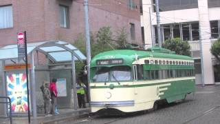The F Line - Heritage Streetcars in San Francisco