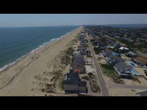 Soaring High over Beautiful Sandbridge Beach - Virginia Beach, VA