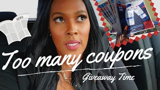Too many Coupons? Giveaway time!