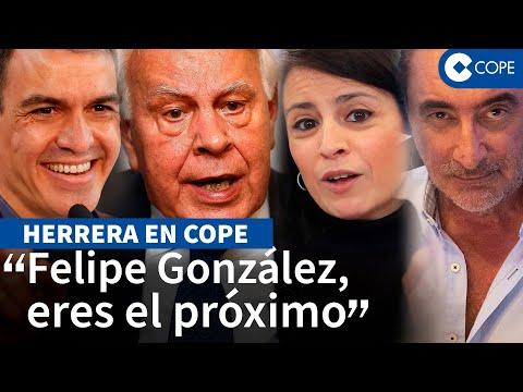 """Herrera: """"¿En qué ha quedado el PSOE para que una nini como Adriana Lastra ahora sea su referencia?"""""""