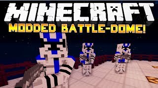 STAR WARS MOD! - Minecraft: Modded Battle-Dome! - w/Preston & Friends!