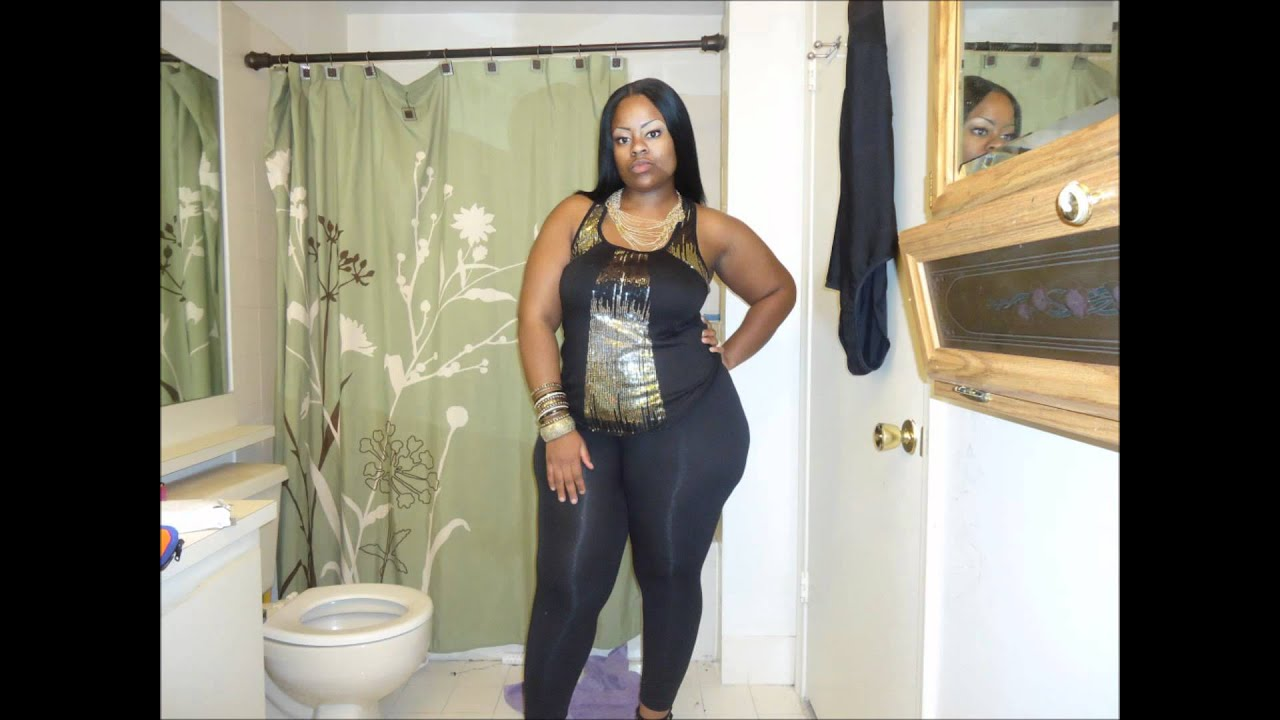 ootn: curvy girl edition black and gold - youtube