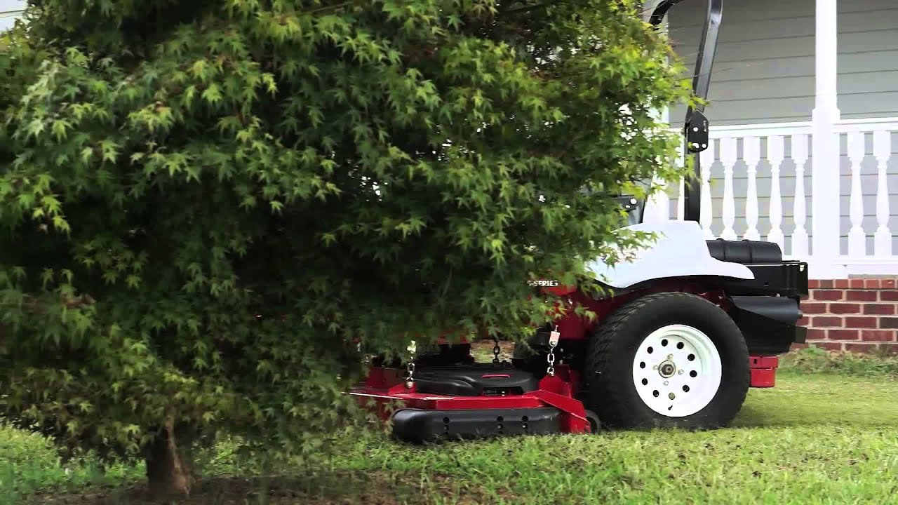 Exmark Ride-On Mower Rear Discharge Technology