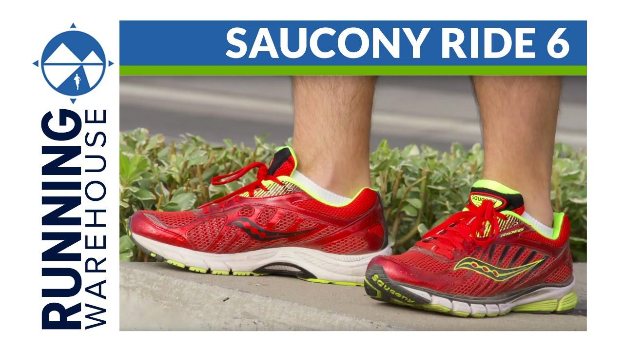 saucony ride 6 38