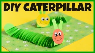 How to a Make Paper Caterpillar - paper craft idea