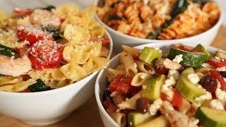 Pasta 3 Delicious Ways