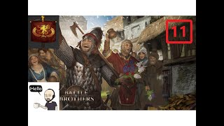 Battle Brothers (Veteran/Expert) All DLC – Peasant Militia - S22 Ep11 – The 13th Legion