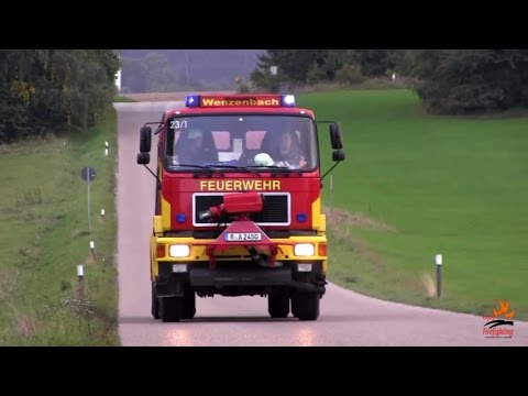 German fire trucks - all kinds of apparatus from dozens of volunteer & career fire departments