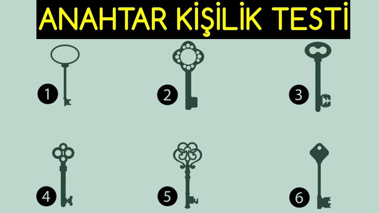 Anahtar Kişilik Testi - Hangi Anahtarı Seçiyorsun?