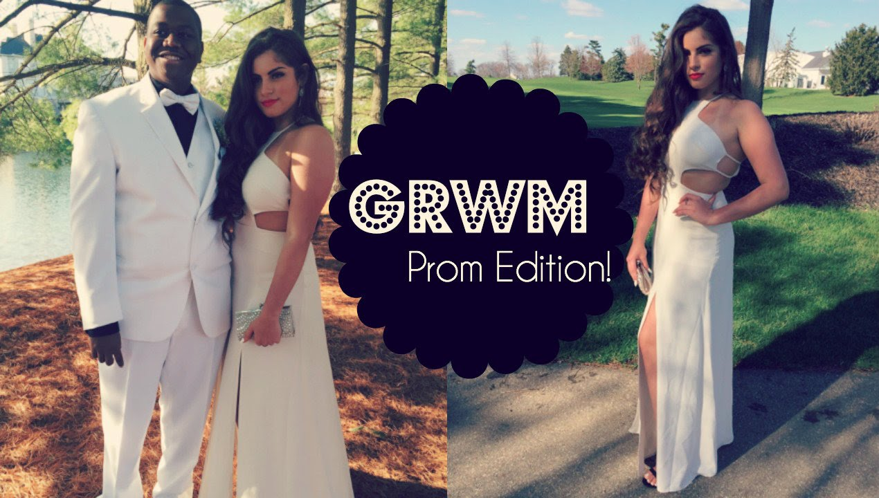 Get prom ready with me hair makeup dress - Get Prom Ready With Me Hair Makeup Dress 23