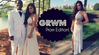 Get Ready With Me♡PROM| Nazaninxox