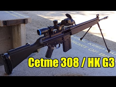 Cetme 308 / Heckler & Koch G3 designated marksman rifle build
