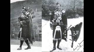 Pipe Major Willie Ross- The Macneill's March, Prince Albert's March (1910-1939) Bagpipes