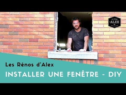 Comment retirer et poser une fenêtre avec Alex