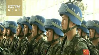 China sends infantry battalion to South Sudan for peacekeeping
