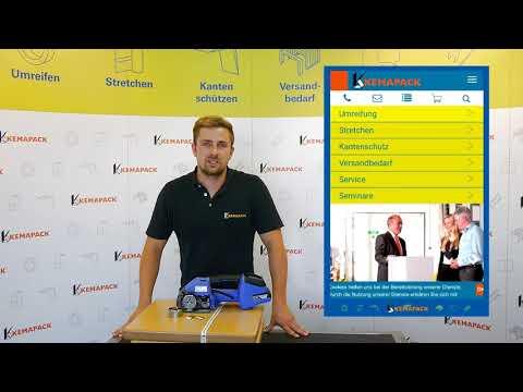 Betriebseinrichter TV #7 Umreifungsmaschine STRAPPI - Banholzerиз YouTube · Длительность: 5 мин2 с