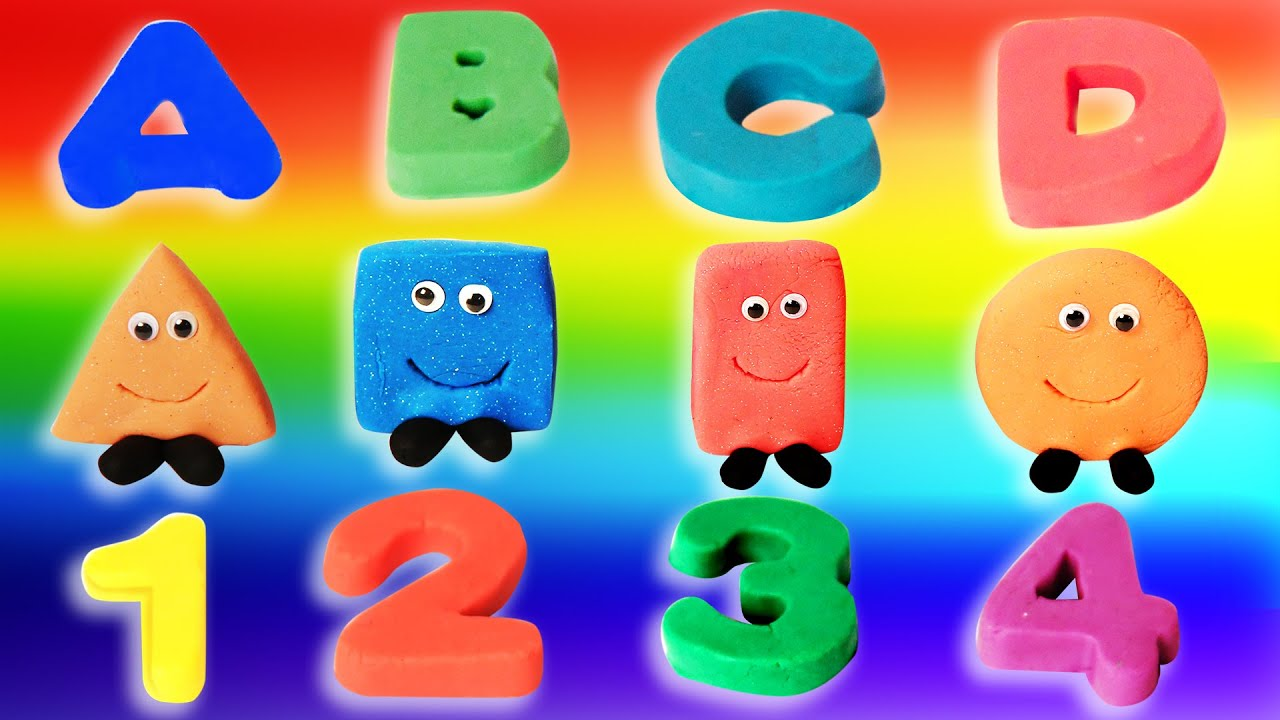 Learn ABC, Numbers, Shapes And Colors