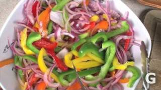 Killer Recipes Cooking Series #1 - For Whom The Bell Pepper Tolls Salad