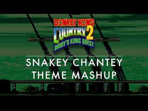 DKC2 Snakey Chantey Theme Mashup REDUX