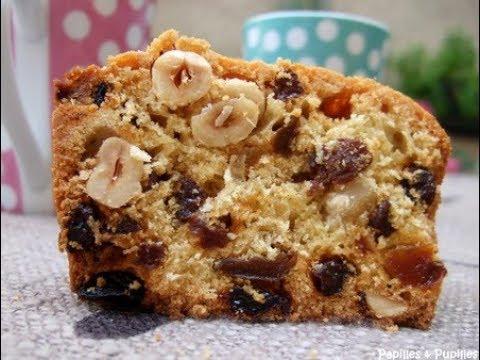 recettes-gâteau-yaourt-nature-avec-banane-et-fruits-secs