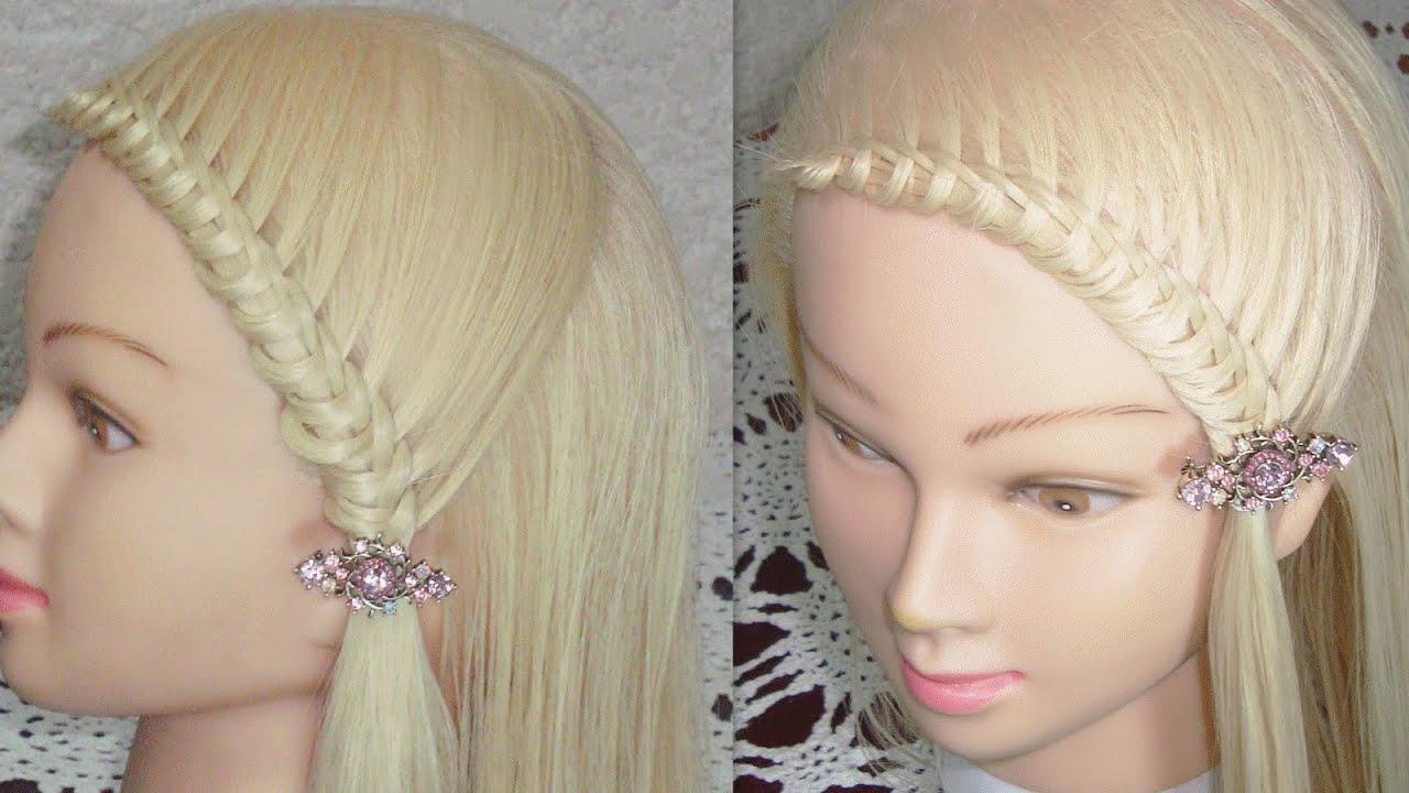peinado de moda con nudos knotted hairstyle viriyuemoon youtube