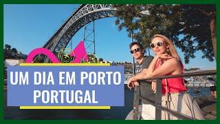 O que fazer um dia no PORTO - Portugal - Vlog de Viagem