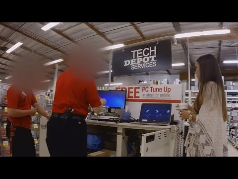 Is Office Depot diagnosing non-existent computer problems?