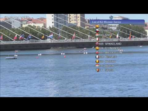 2016  ECA Canoe Marathon Europeans Championships in Pontevedra , Spain