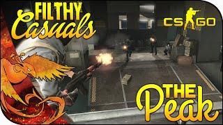 CS GO Funny Moments: Filthy Casuals │ The Peak [CS:GO Funny Moments]